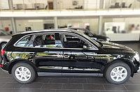Комплект молдингов на двери Audi Q5 (2008)