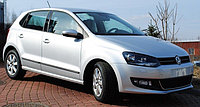 Комплект боковых молдингов VW Polo 5D (2010)