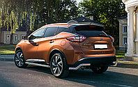 Защита задняя уголки Nissan Murano 2016-