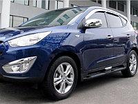 Пороги OEM, для Hyundai iX35