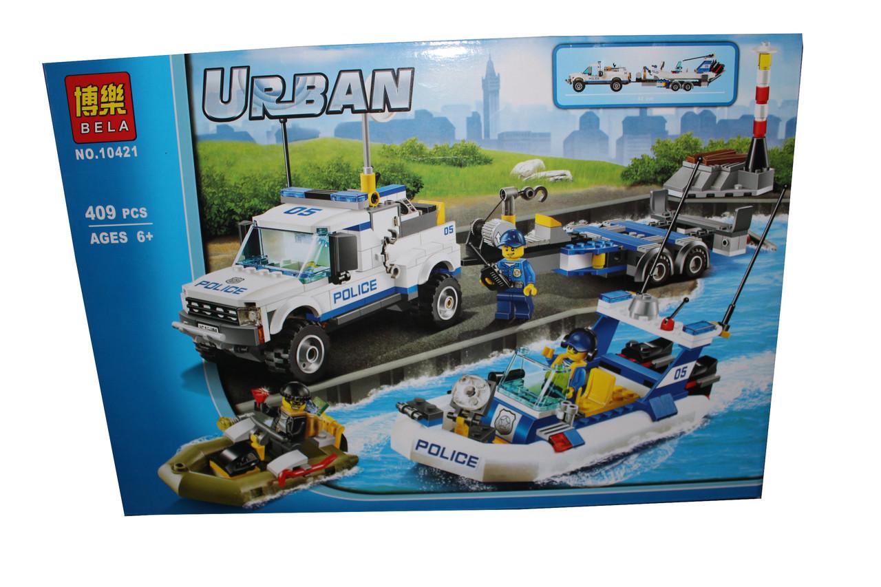 Лего урбан 10421