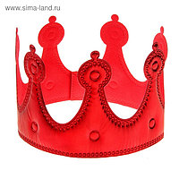 Корона «Принцесса», красная