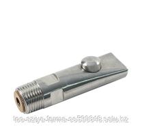 Шаровая поилка для свиней 80х20 мм (нержавейка)