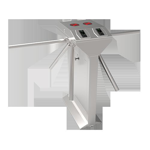Турникет-трипод ZKTeco TS1222 c контроллером и биометрическим считывателем (отпечаток пальца + RFID карта)