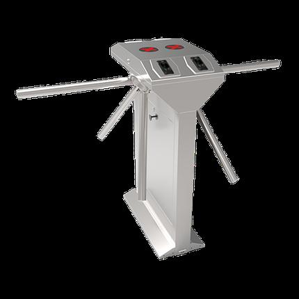 Турникет-трипод ZKTeco TS1222 c контроллером и биометрическим считывателем (отпечаток пальца + RFID карта), фото 2