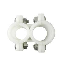 Крепление для пластиковых труб (параллельное) 20 х 25 см
