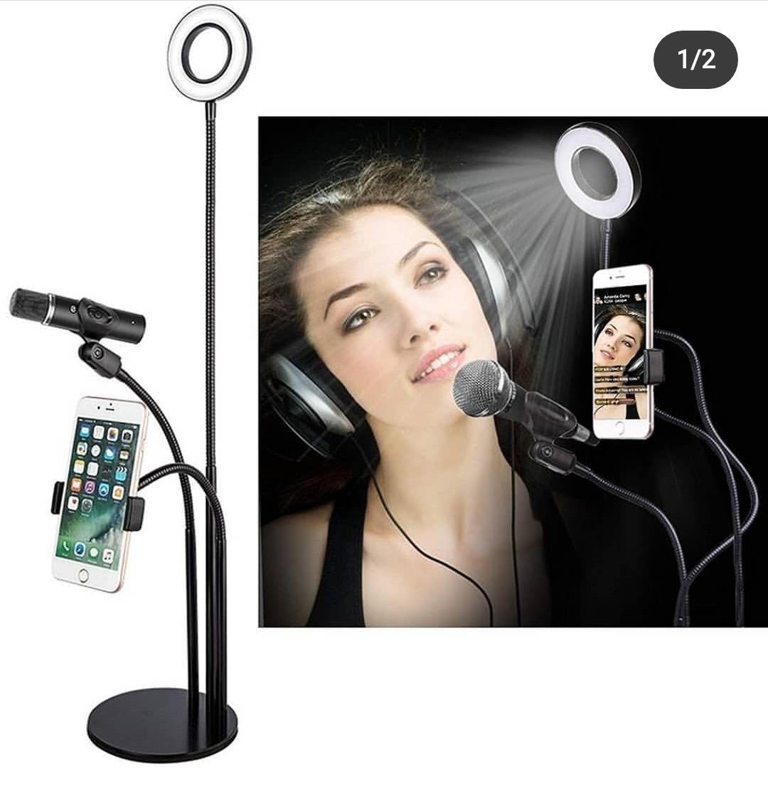 Светодиодная кольцевая лампа Professional Live Stream