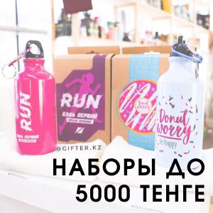 Подарочные наборы до 5000 тенге