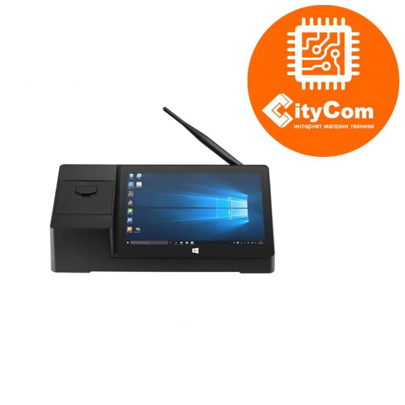 "Мини ПК PiPo X3 с 9"" сенсорным дисплеем и 58мм принтером чеков. Mini PC. Pos система. Пипо. Атол."