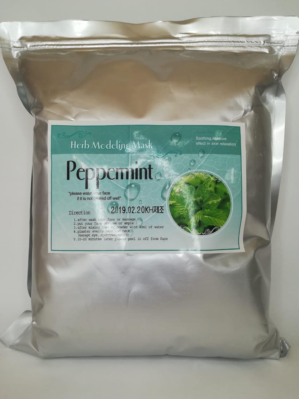 Альгинатная маска с мятой (HERB PEPPERMINT MODELING MASK) 1 кг.