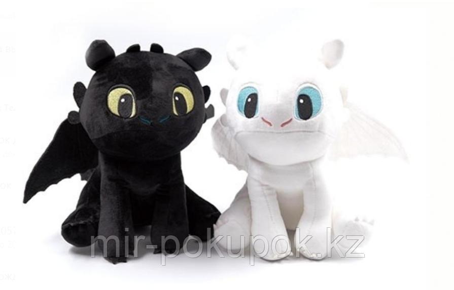 """Беззубик Мягкая игрушка 25 см мультик """"Как приручить дракона"""""""