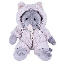 Мягкая игрушка Мышь в костюме, 20 см