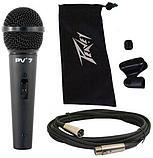 Динамический кардиоидный микрофон Peavey PV 7 XLR-XLR, фото 2