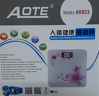Напольные электронные весы Aote A6023, фото 2