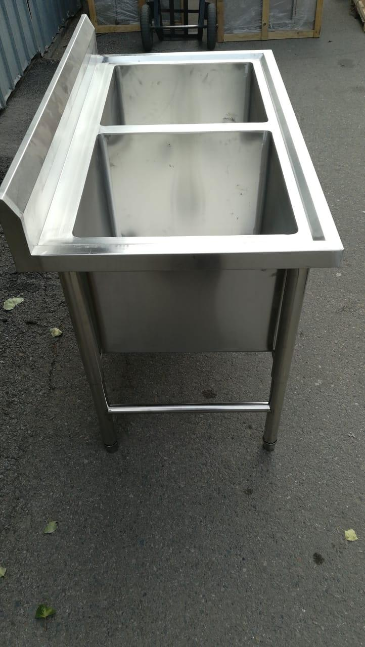 Ванна моечная промышленная 1-секционная Глубокая