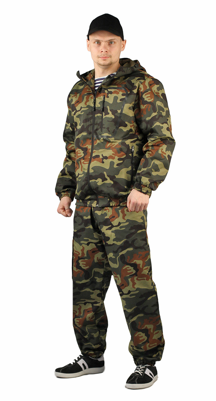 """Туристический летний мужской костюм цвет """"НАТО"""" в Алматы"""