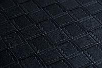 Кожаные панели 2D ЭЛЕГАНТ, Wicker Черный, 1200х2700 мм Казахстан