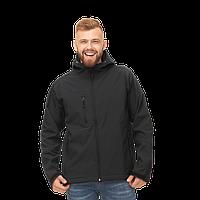 Куртка Softshell нового поколения с капюшоном, StanThermoWind, 71N, Чёрный (20), XS/44