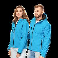 Куртка Softshell нового поколения с капюшоном, StanThermoWind, 71N, Лазурный (40), XXL/54