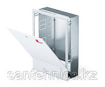 Шкаф коллекторный встраеваемый сталь ШРВ-3 700х120-180х648-711мм Wester