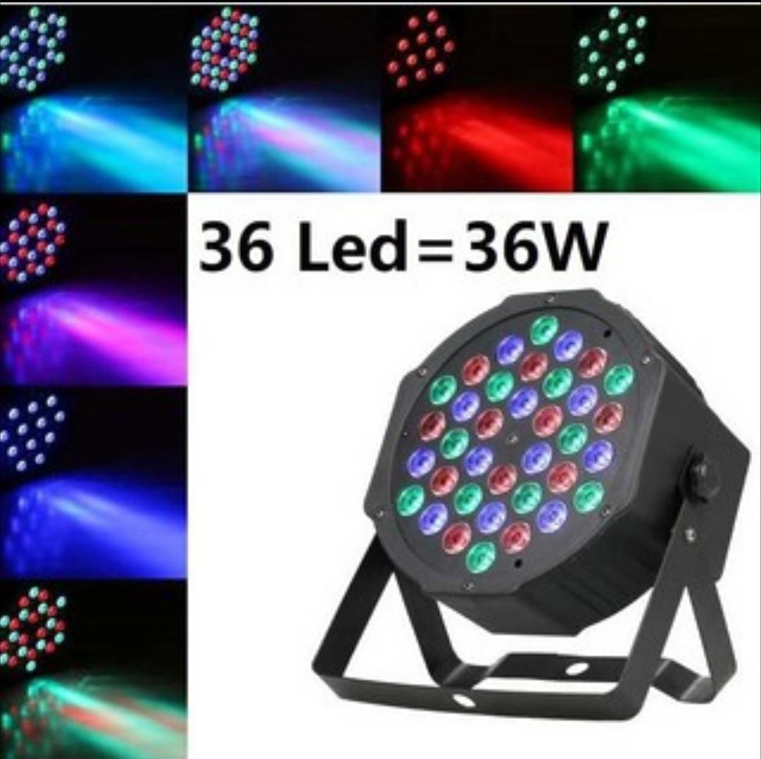 Фоно-заливочный прожектор Led mini flat par light
