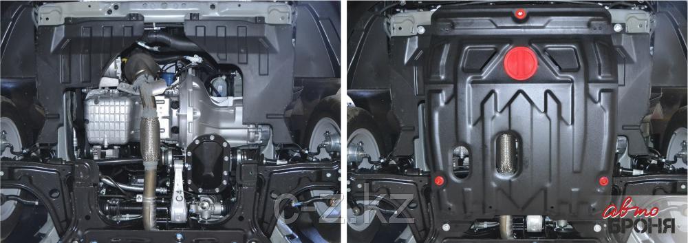 Защита картера + КПП, Daewoo Gentra 2013-2016, фото 2