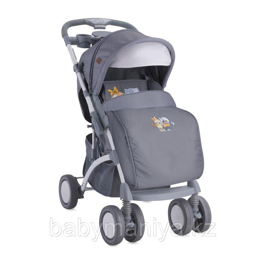 Коляска Bertoni APOLLO + сумка для мамы Grey Baby Owls 1729