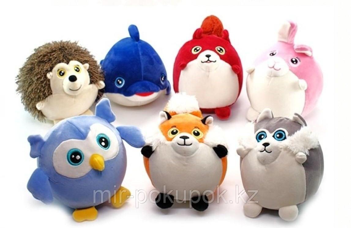 Очаровательные мягкие  игрушки круглые шар в ассортименте
