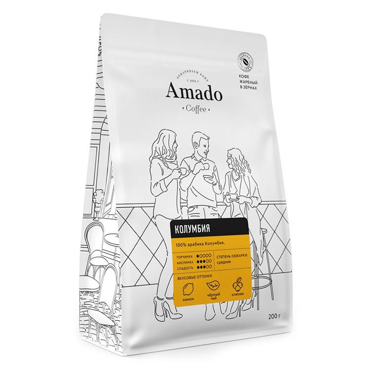 Колумбия Кофе в зернах 200г