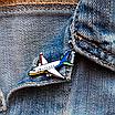 "Значок ""Самолет"", фото 2"