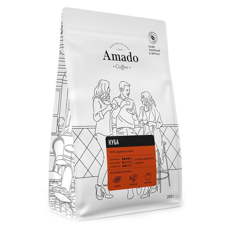 Куба Кофе в зернах 200гр
