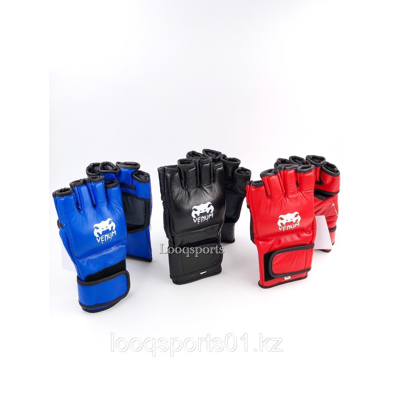 Перчатки для мма и единоборств кожа (UFC)