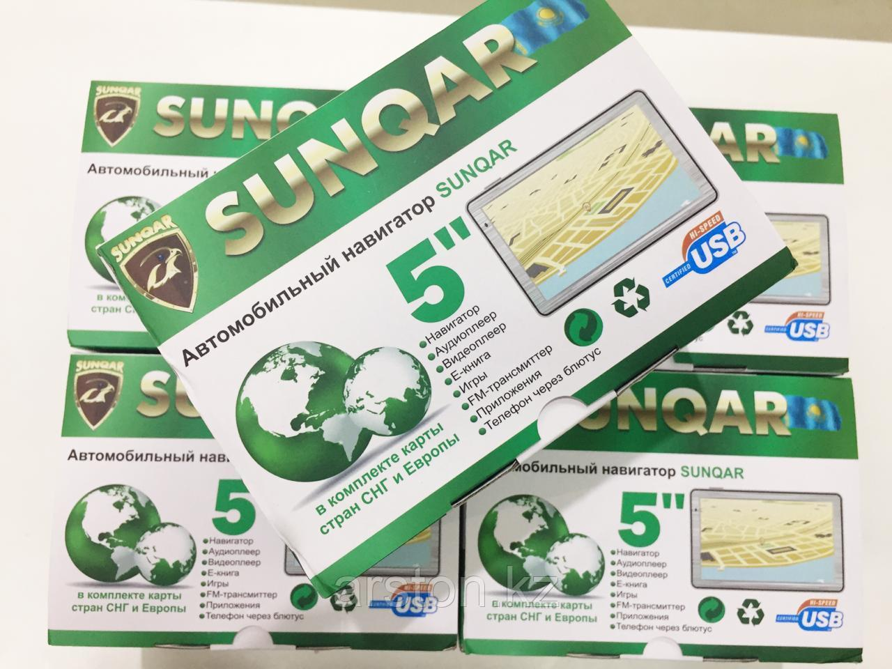 Навигатор 5 дюймовый Sunqar