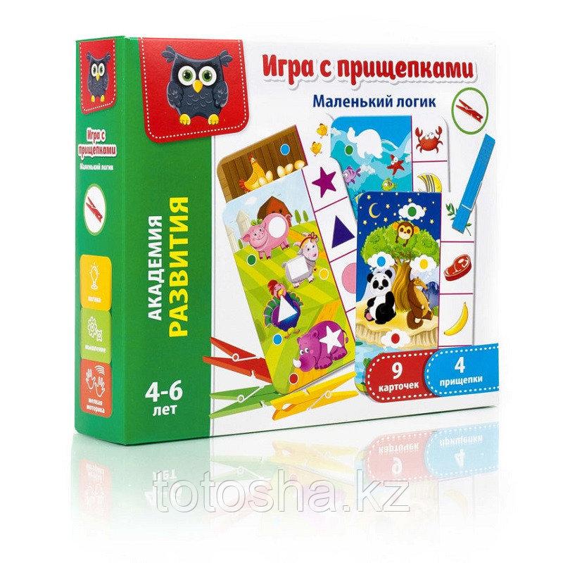 """Игра с прищепками """"Маленький логик"""" VT5303-03"""