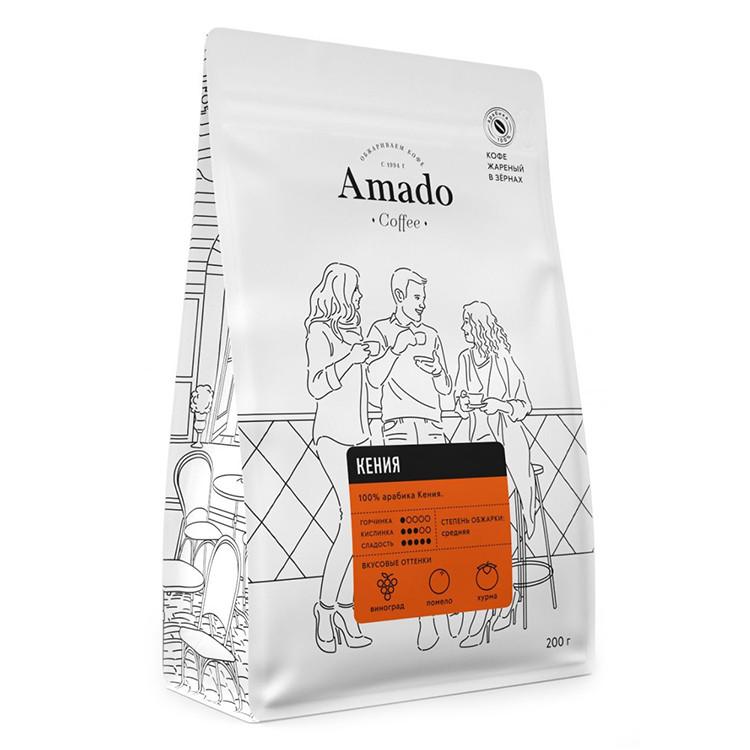 Кения Кофе в зернах 200г