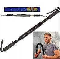 Эспандер палка грудной плечевой силовой 50 кг