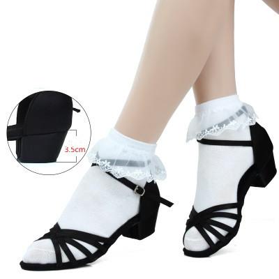 Туфли для бальных танцев ( детские) чёрные. Размер: 32-36 - фото 3