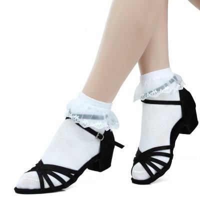 Туфли для бальных танцев ( детские) чёрные. Размер: 32-36 - фото 4