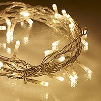 Гирлянды светодиодные, новогодние, уличные струна, нить, twinkle light. 10 м. мигающая/не соединяется, фото 4