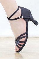 Туфли для бальных танцев (взрослые) чёрные. Размер: 35-41 36