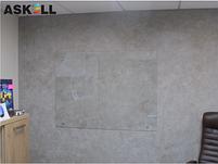 Прозрачная доска 1000*2000мм, ASKELL c внешними креплениями (KRYSTALL), фото 2