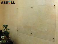 Прозрачная доска 1000*2000мм, ASKELL c внешними креплениями (KRYSTALL)
