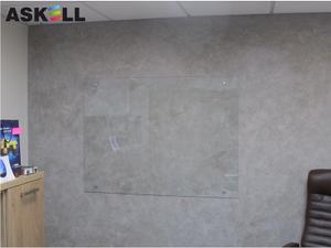 Прозрачная доска 600*900мм, ASKELL c внешними креплениями (KRYSTALL)