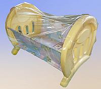 Игрушечная кроватка для куклы. Полесье.