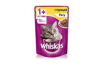 Влажный корм для кошек Вискас Рагу Курица