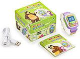 Часы-Телефон AGU с GPS трекером Маша и Медведь, фото 3