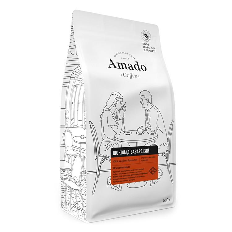 Баварский шоколад Кофе в зернах 500г