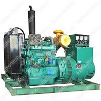 Трехфазная дизельная электростанция 30кВт