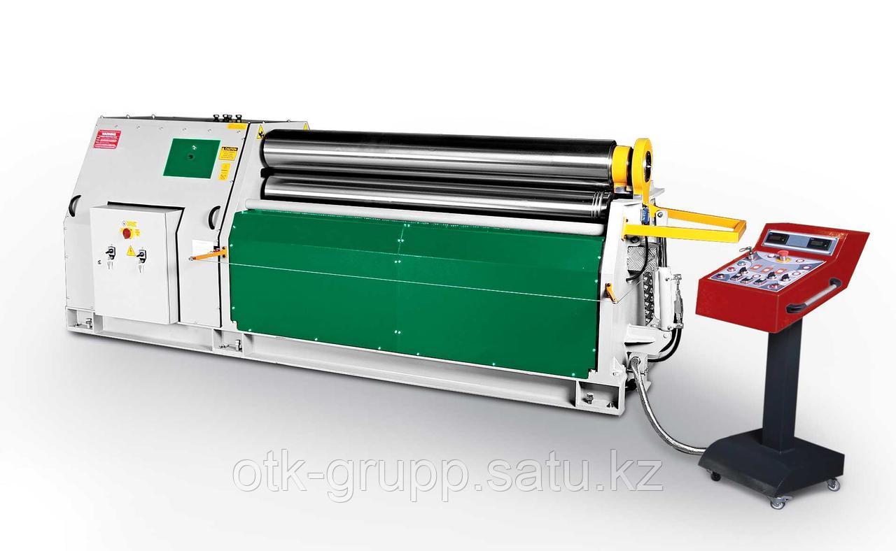Гидравлический 3-ох валковый вальцовочный станок ГВС3-3050