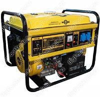 Генератор трехфазный бензиновый 6,5кВт 6,5GFE3